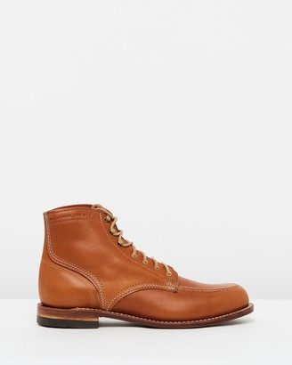 "Wolverine 1000 Mile 1940 6"" Leather Boots"