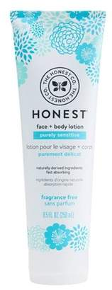 The Honest Company Face + Body Lotion, Fragrance Free - 8.5oz