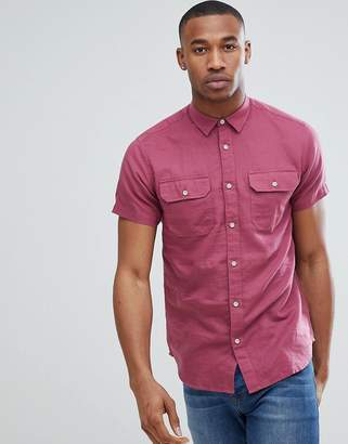 Jack and Jones Short Sleeve Shirt With Double Pockets