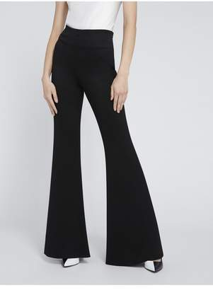 Alice + Olivia Moxie High Waisted Side Zip Pant