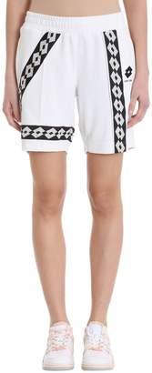 Damir Doma Wi Paris Shorts X Lotto In White Viscose