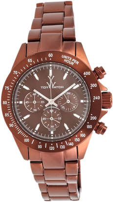 Toy Watch Toywatch Chrono Metallic Brown Watch