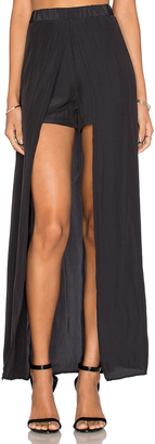 Ella Moss Extreme Lengths High Low Skort $178 thestylecure.com