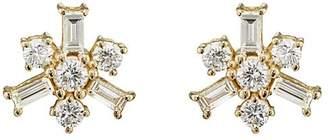 Ileana Makri Women's Snowflake Stud Earrings