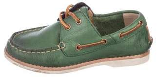 Frye Boys' Leather Boat Shoes
