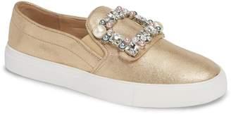 Karl Lagerfeld Paris Evelyn Imitation Pearl Embellished Sneaker