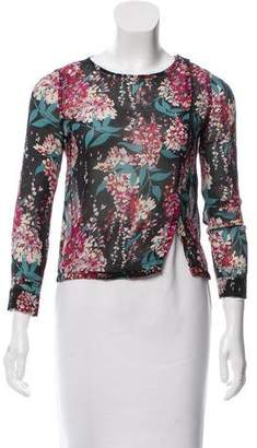 Tocca Printed Long Sleeve Top