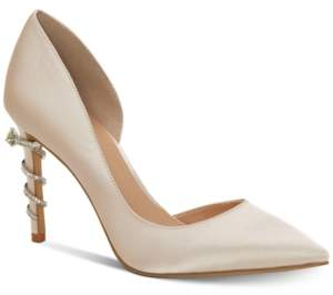 INC International Concepts I.n.c. Women's Keeley Ring-On-Heel Bridal Pumps, Created for Macy's Women's Shoes