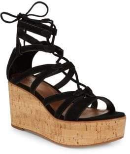 951932790bf9 ... Frye Heather Suede Gladiator Wedge Sandals