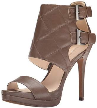 Nine West Women's Brakedance Leather Heeled Sandal