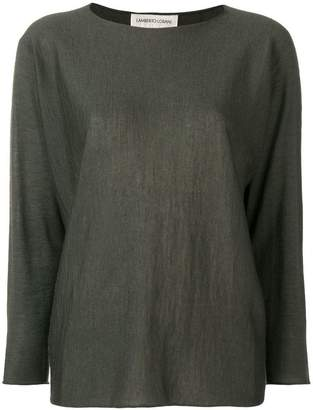 Lamberto Losani long-sleeve shift sweater