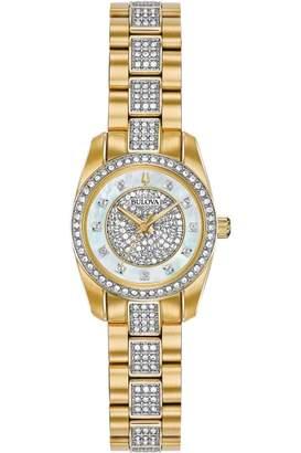 Bulova Ladies Crystal Watch 98L241