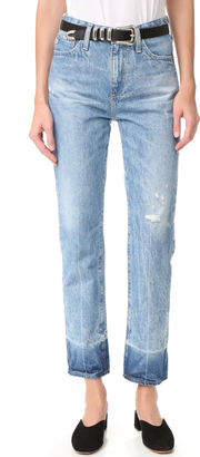 AG The Phoebe High Waisted Jeans $235 thestylecure.com