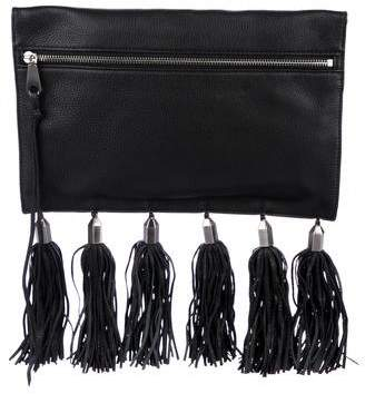 Rebecca Minkoff Fringe King Leather Clutch