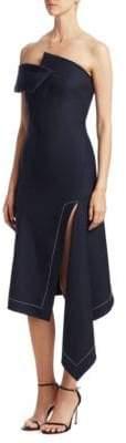 Monse Twisted Asymmetrical Dress