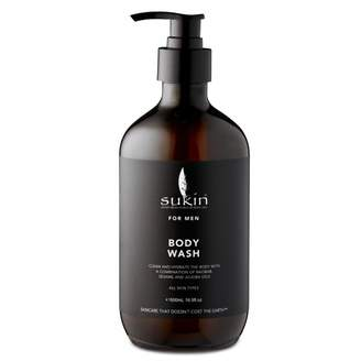 Sukin For Men Body Wash 500 mL