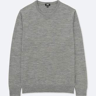 Uniqlo Men's Extra Fine Merino Crewneck Sweater