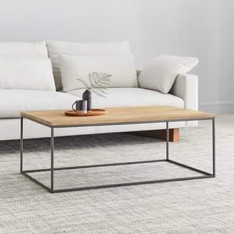 west elm Streamline Coffee Table - Whitewashed