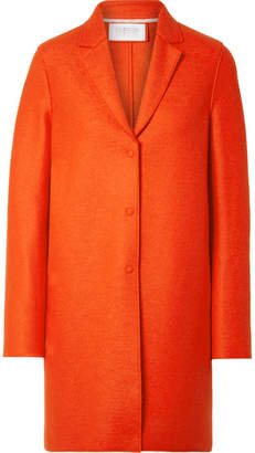 Harris Wharf London Oversized Wool-felt Coat - Papaya