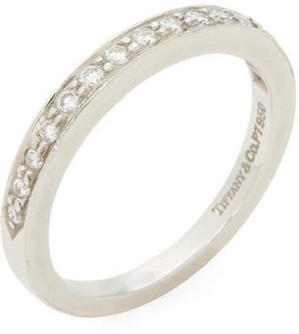 Tiffany & Co. Vintage Platinum & Diamond Band Ring
