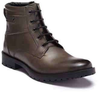 Giorgio Brutini Bomont Leather Plain Toe Lace-Up Boot