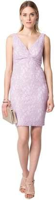 Le Château Women's Lace Sheath Cocktail Dress,XL