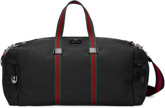 Gucci Technical canvas duffle