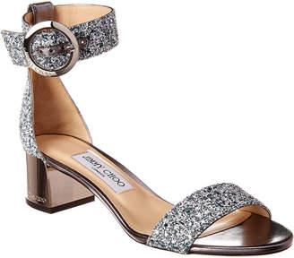 Jimmy Choo Jaimie 40 Glitter Sandal