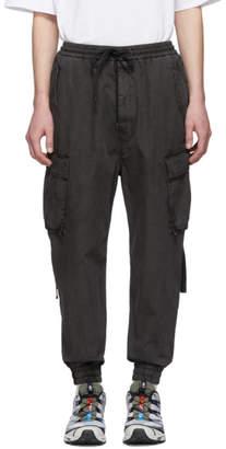 Juun.J Grey Tapered Cargo Pants