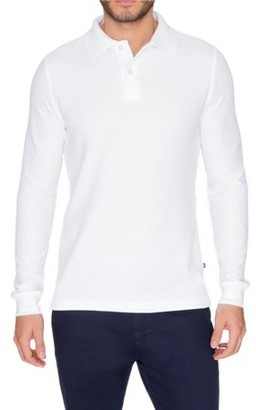 Lee Uniforms Young Men's Modern Fit Long Sleeve Polo