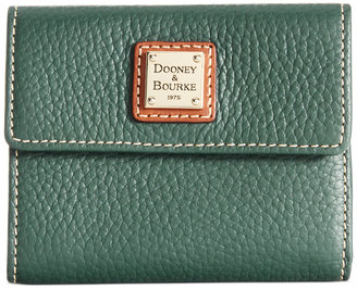 Dooney & Bourke Pebble Small Flap Wallet $98 thestylecure.com