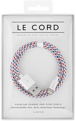 Le Cord Spiral Braided 1.2m Lightning Cable