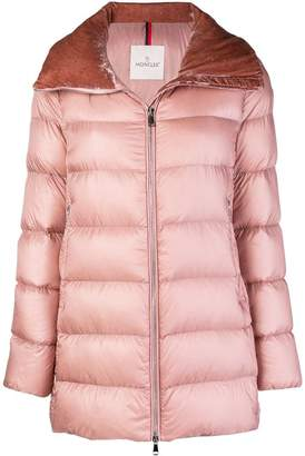 Moncler zipped puffer jacket