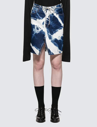 Aries Bleach Denim Skirt