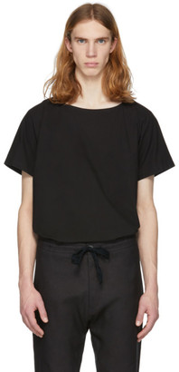 Jan-Jan Van Essche Black Cotton T-Shirt