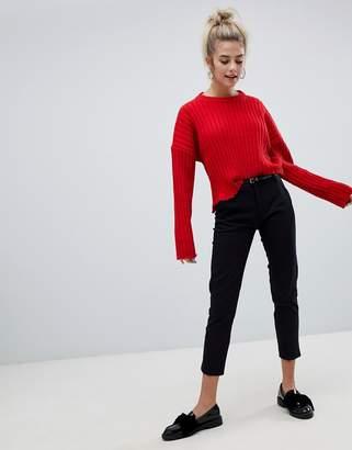 Bershka belted trouser