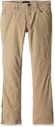 Tommy Hilfiger Adaptive Men's Courduroy Pants Slim Adjustable Waist Magnet Buttons