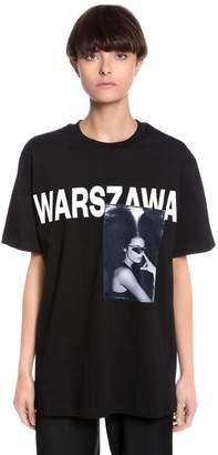 Misbhv Warszawa Printed Cotton Jersey T-Shirt