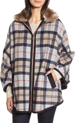 Barbour Crieff Wool Cape