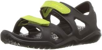 Crocs Unisex-Kids Swiftwater River K Flat Sandal