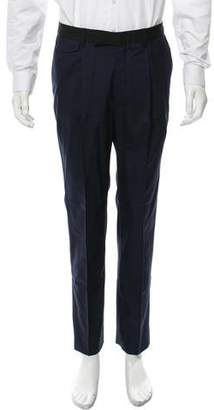 Kris Van Assche Wool Tuxedo Pants