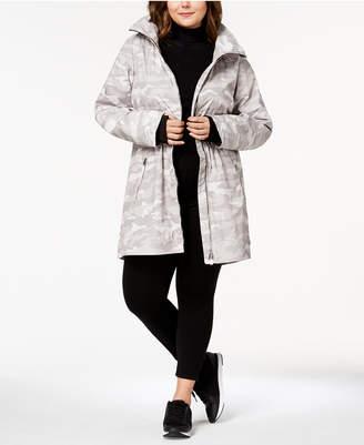 Calvin Klein Plus Size Lightweight Active Rain Jacket