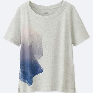 Uniqlo Women's Sprz Ny Short-sleeve Graphic T-Shirt (niko Luoma)