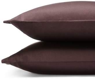 Vera Wang Simplicity Sateen King Pillowcase, Pair - 100% Exclusive