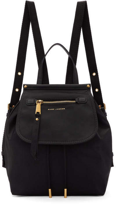 Marc Jacobs Black Nylon Trooper Backpack