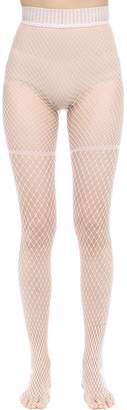 Wolford Early Haze Nylon Net Tights