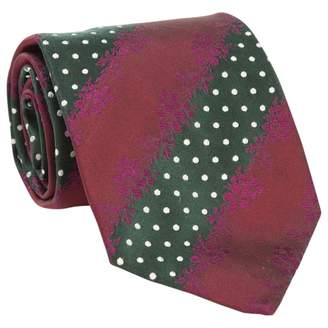 Paul Smith Burgundy Silk Tie