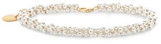 Alighieri Il Leone Sterling Silver & 24kt Gold Plated Anklet - Womens - Silver