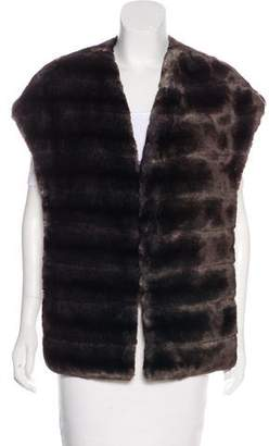 Max Mara Weekend Faux Fur Stole