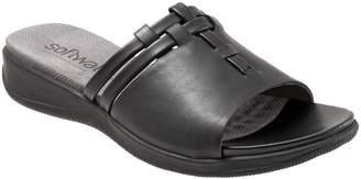 SoftWalk R) Tahoma Woven Slide Sandal